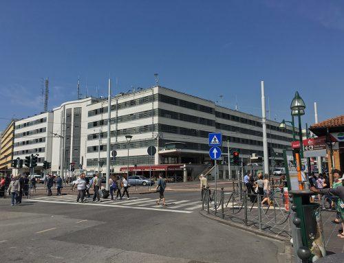 Historic building – Venice, piazzale Roma